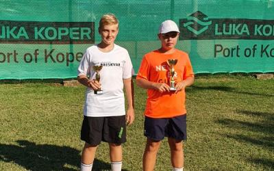 Dosežek učenca na teniškem turnirju